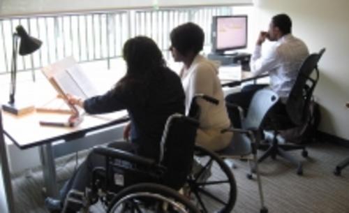 Adaptive Technology Centre workstations
