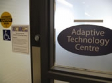 view of front door of adaptive technology centre