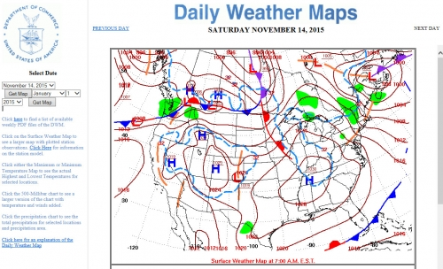 Daily Weather Maps Daily weather maps | Geospatial Centre | University of Waterloo Daily Weather Maps