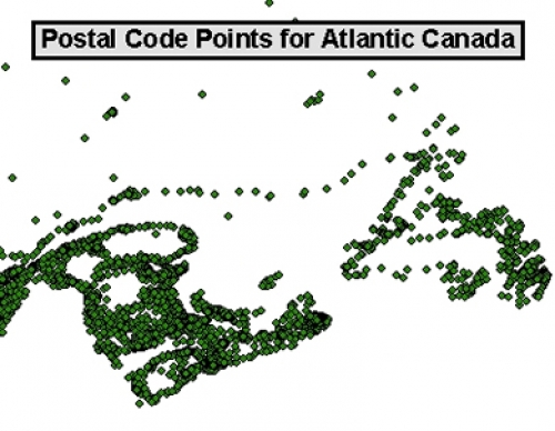 Dmti Postal Code Geography Geospatial Centre University Of Waterloo