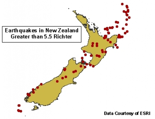 earthquakes in new zealand greater than 5.5 richter (JPEG)