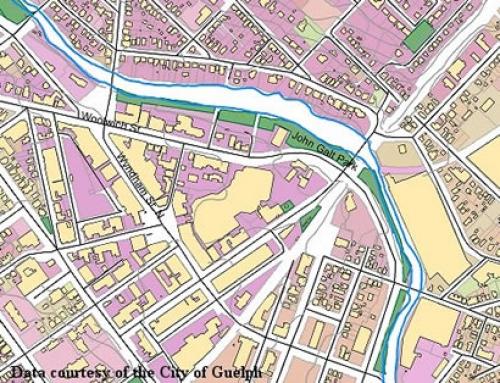 City Of Guelph Municipal Data Geospatial Centre University Of - Guelph map