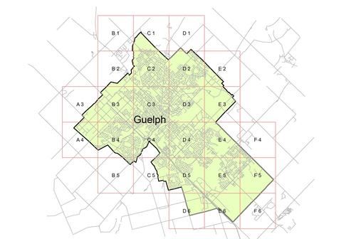 City of Guelph grid index