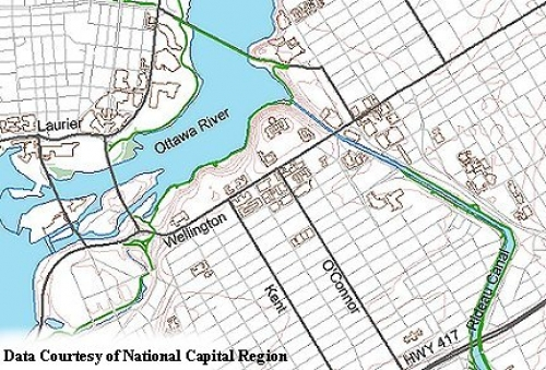 national capital region topographic and recreational data