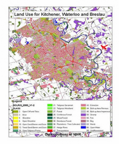 Example Of A Resource Map: Southern Ontario Land Resource Information System (SOLRIS