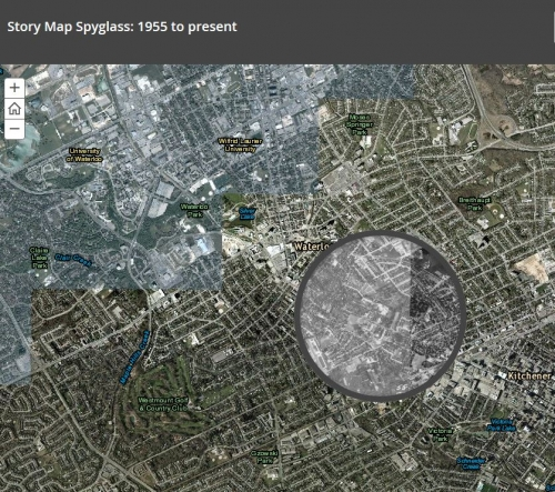 showing Kitchener from 1955 - present