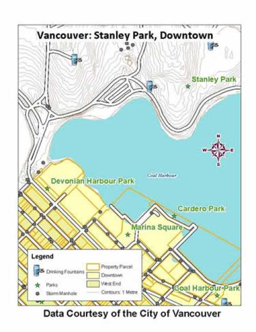 City of Vancouver vector data (open data)   Geospatial Centre ... City Of Vancouver Property Map on
