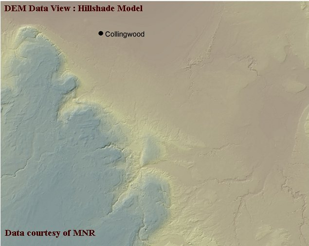 Digital Elevation Model (DEM) data | Geospatial Centre | University