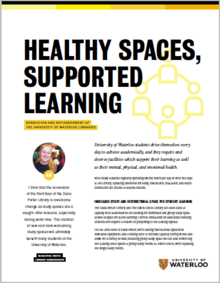 Healthy spaces, supported learning publication