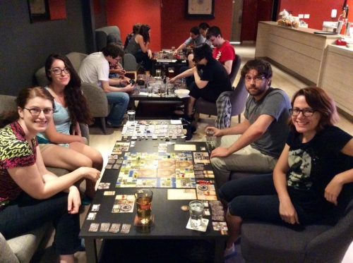 board game cafe kitchener waterloo
