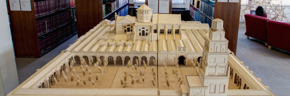 Model replica of the Great Mosque/Cathedral at Cordoba, Spain