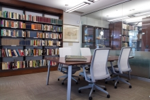 Rare book reading room