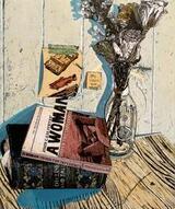 Still life with objects of fantasy artwork three