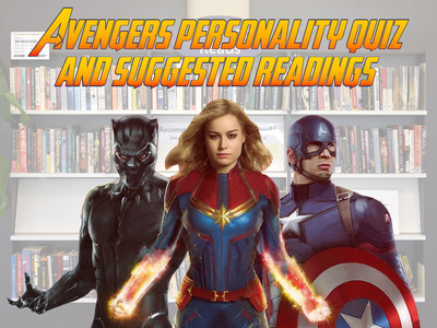 Avengers personality quiz and suggested readings