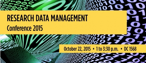 Research Data Management Conference 2015