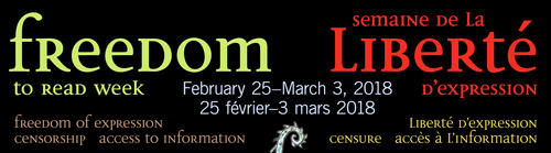 Freedom to Read Week banner