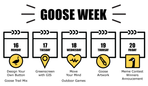 Event week calendar