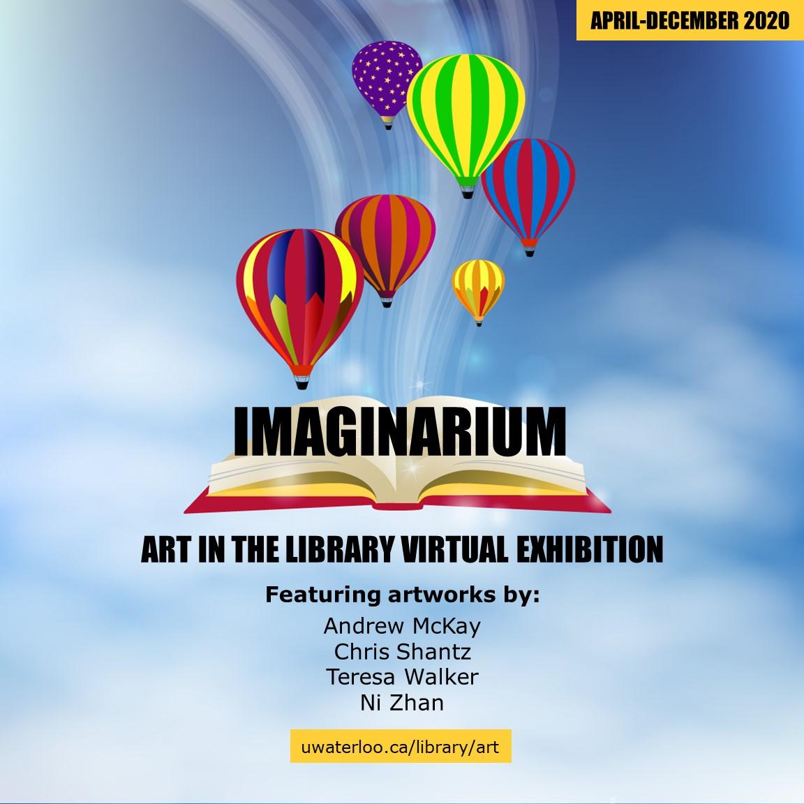Imaginarium virtual exhibit list of artists