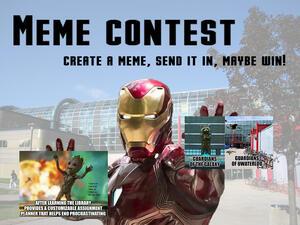 create a meme, send it in, maybe win