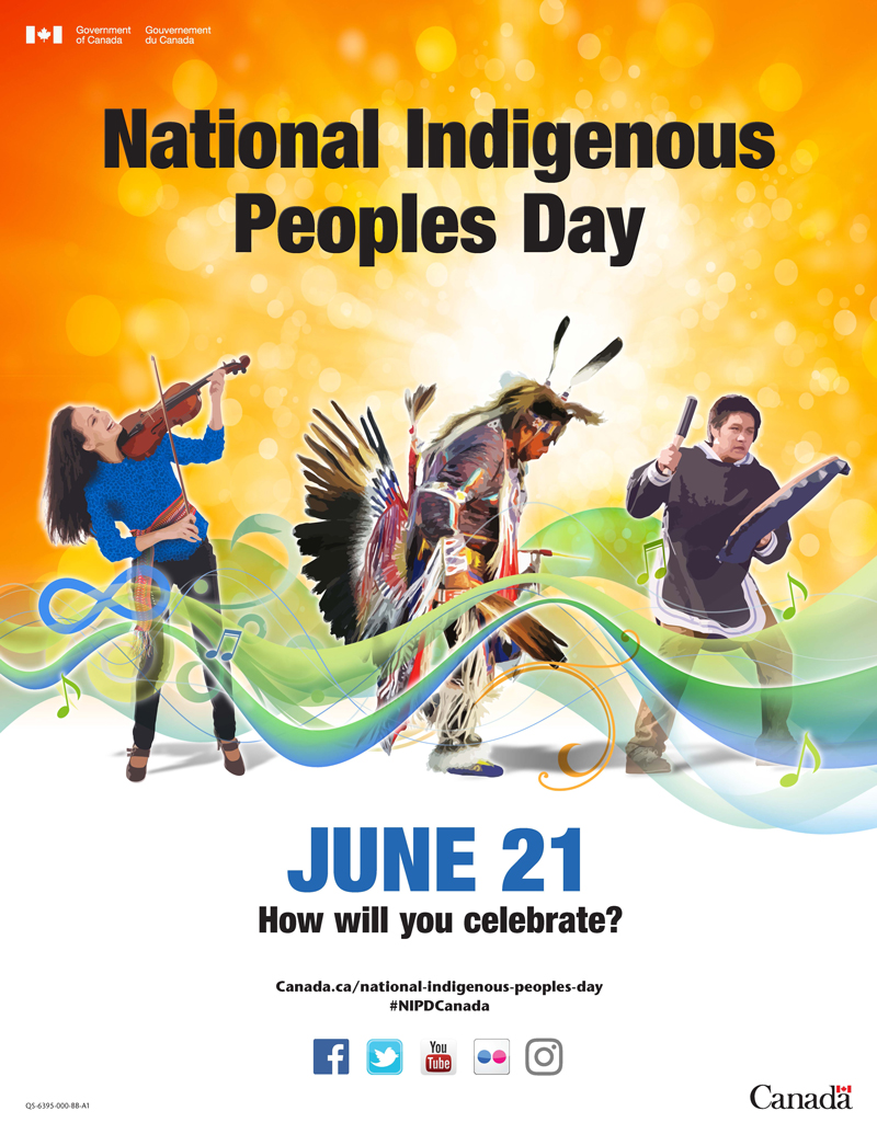 National Indigenous Peoples Day Government of Canada Poster