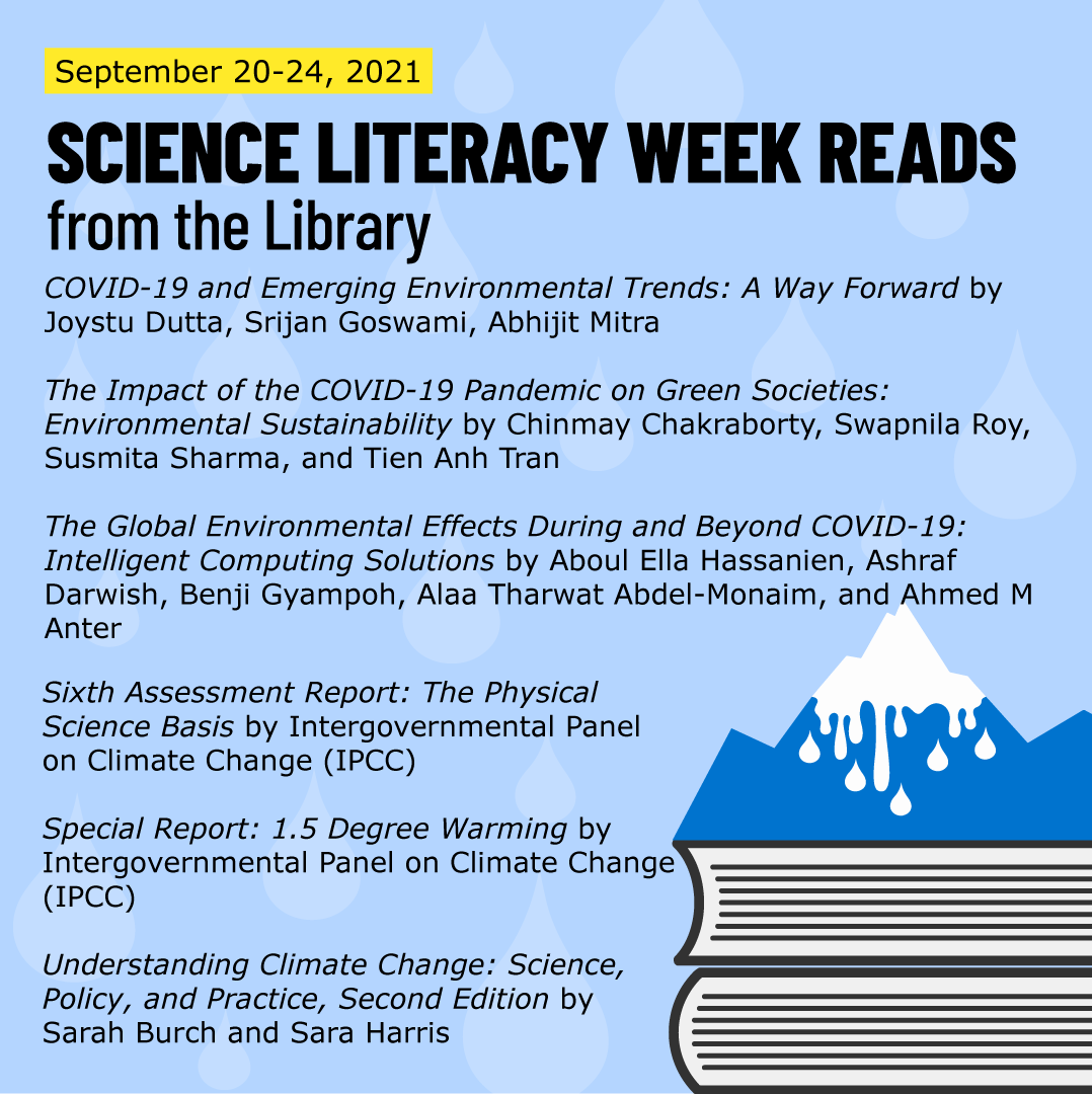 Science Literacy Week Reads from the Library