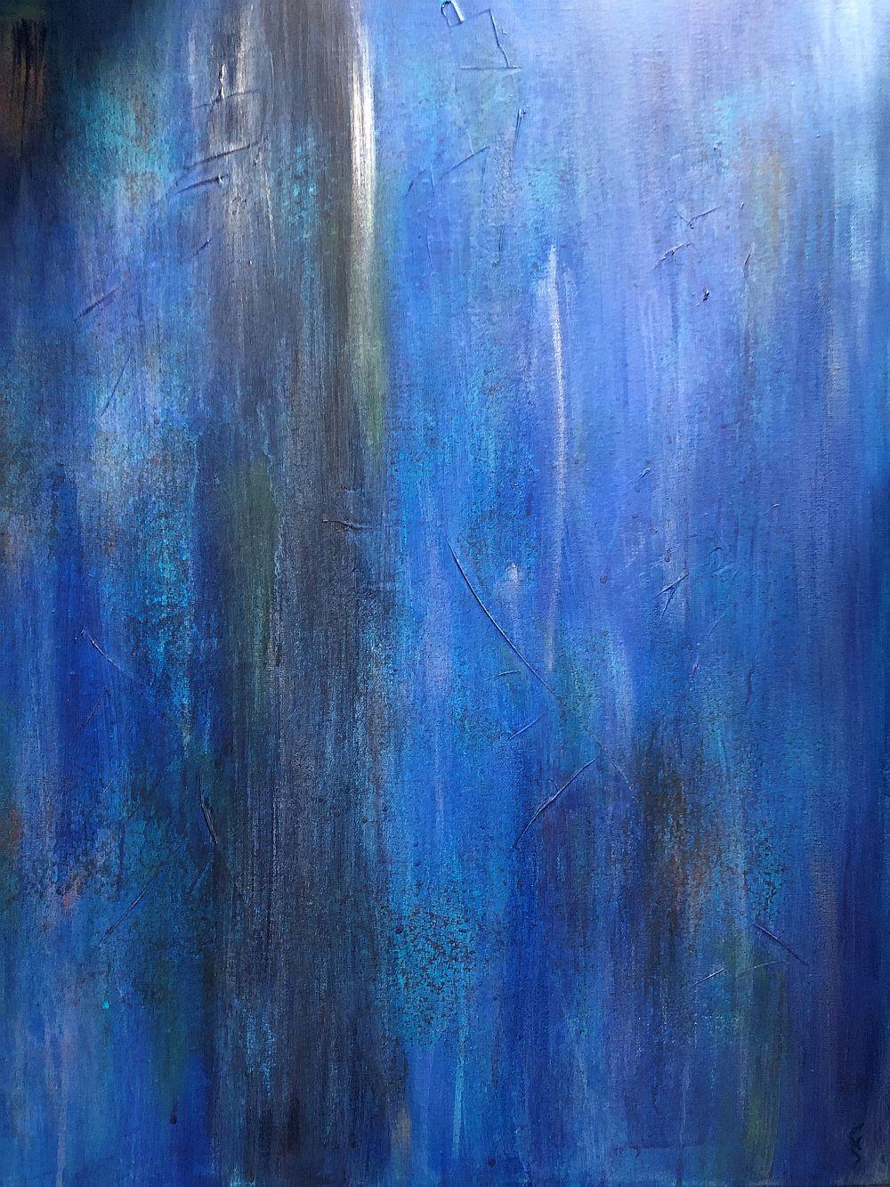 """Chris Shantz artwork """"Downpour"""""""
