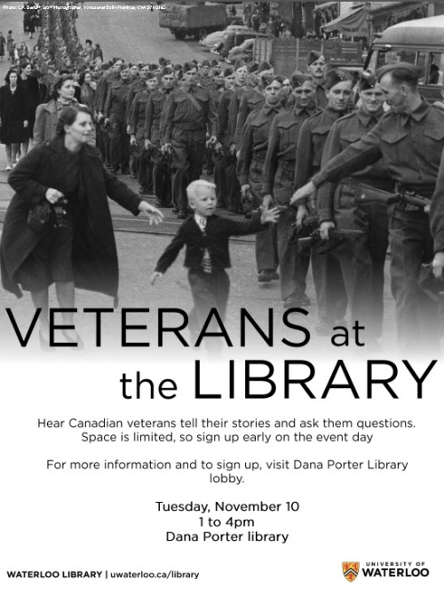 Veterans at the Library