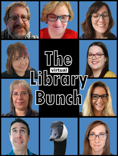 The virtual library bunch collage