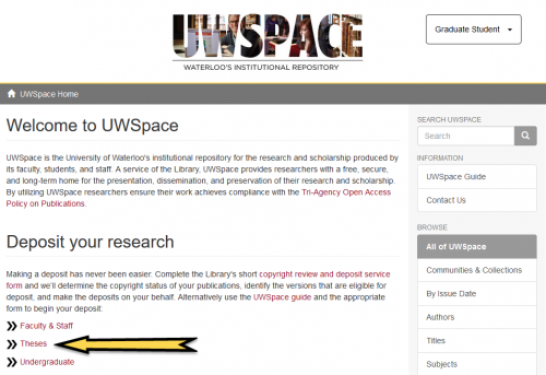 uwspace thesis submission