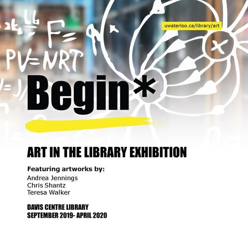Begin* exhibition graphic