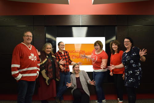 Library United Way team