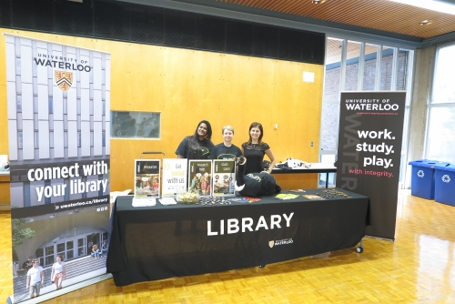 Office of Academic Integrity booth