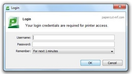 uprint login interface