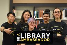 Apply to be a Library Ambassador