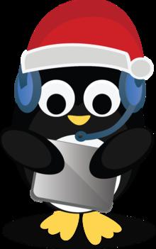 holi-yay! penguin