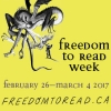 Freedom to read week poster
