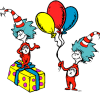 Dr. Seuss birthday drawing
