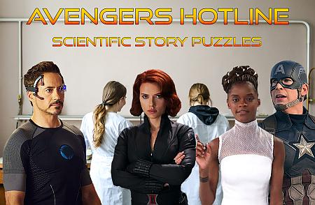 Avengers hotline scientific story puzzles