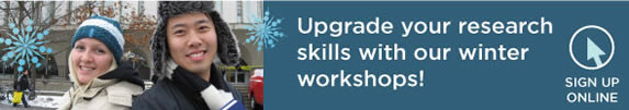 Upgrade your research skills with our winter workshops