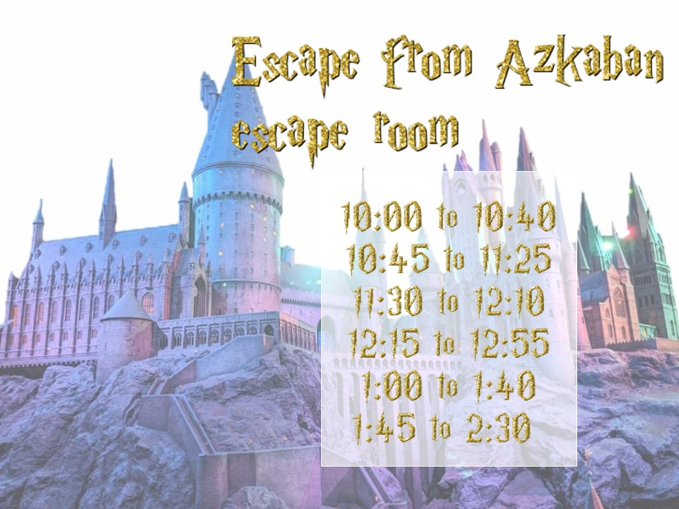 castle with event times