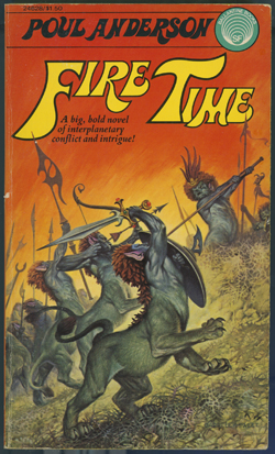 Bookcover of Fire Time by Poul Anderson