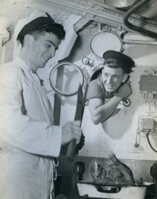 World War II Canadian Navy promotional material