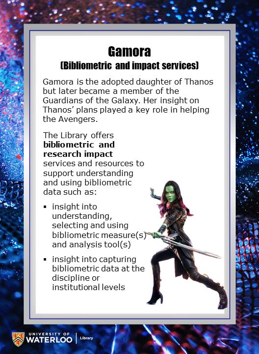 Gamora (Bibliometric and impact services)