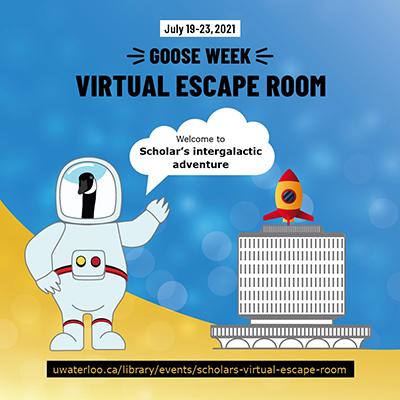Goose Week 2021 virtual escape room