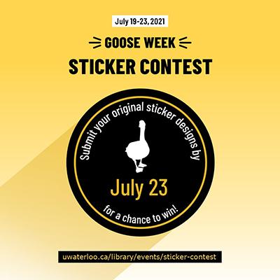 Goose Week 2021 sticker contest