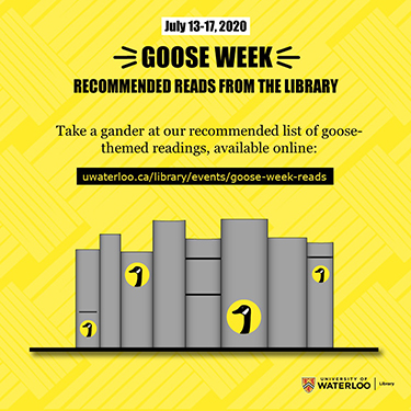 Goose Week recommended reads from the Library