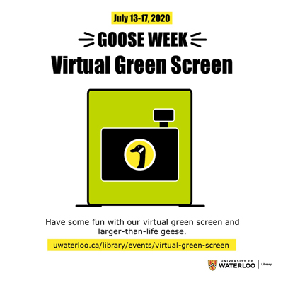 Goose Week Virtual Green Screen