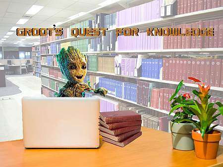 Groot's quest for knowledge