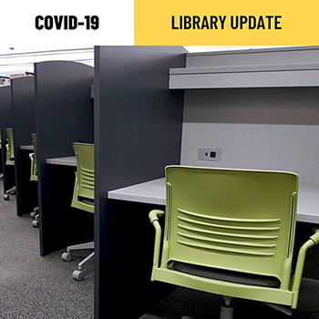 Davis Centre Library study carrels