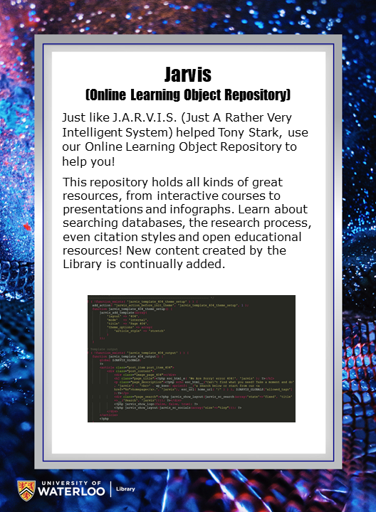Jarvis (Online Learning Object Repository)
